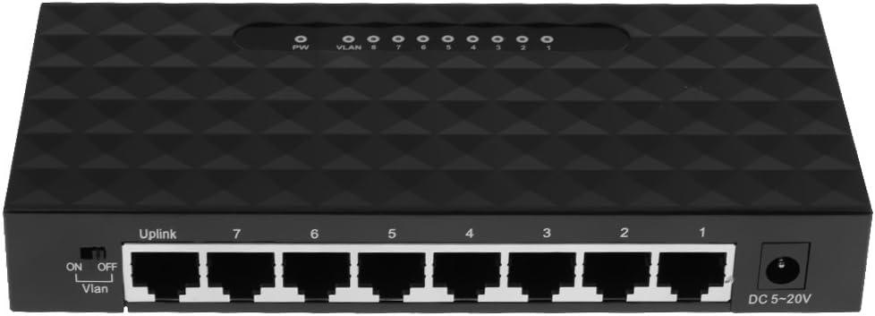 8 Port Gigabit Internet Ethernet Switch LAN Network Hub Extender Splitter