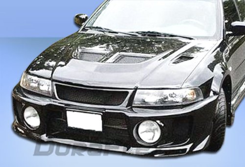 Duraflex 101889 1997-2001 Mitsubishi Mirage 4DR Duraflex Evo 5 Wide Body Front Fenders - Evo 5 Wide Body