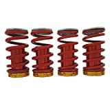 "Heinmo Red Suspension Coilover Spring 1-4""Lowering Scaled for 88-00 CIVIC EG EJ EK/DC"