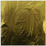 Blattgold Schlagmetall (Imit.) 25 Blatt - Format 14 x 14 cm von Creavvee artmaxx