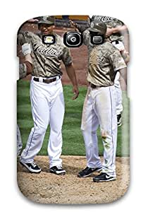 6345467K783117312 san diego padres MLB Sports & Colleges best Samsung Galaxy S3 cases