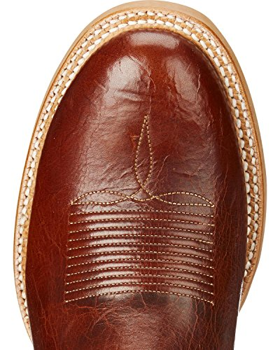 Ariat Mens Matcha Western Boot Cowboy Cognac / Neon Lime