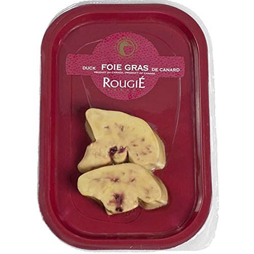 Fresh Duck Foie Gras - Sliced, Flash-frozen - 2 Pieces