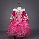 DreamHigh Sleeping Beauty Princess Aurora Girls Costume Dress 3-10 Years