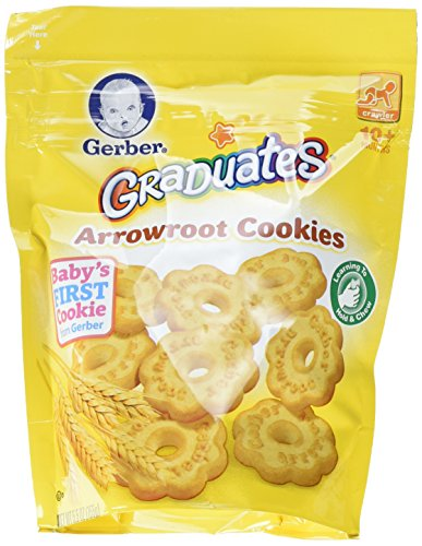 Gerber Graduates Arrowroot Cookies Pouch, 5.5 Ounce