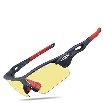 Deportes gafas de sol, West ciclismo fotocromáticas polarizadas gafas de sol con 3 lentes intercambiables