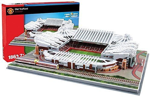 Manchester United Old Trafford Stadium 3d Puzzle Os By Nanostad