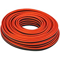 100 feet TRUE 12 Gauge AWG CCA Speaker Wire Red/Black Car Home Audio