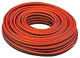 100' feet TRUE 12 Gauge AWG CCA Speaker Wire Red/Black Car Home Audio