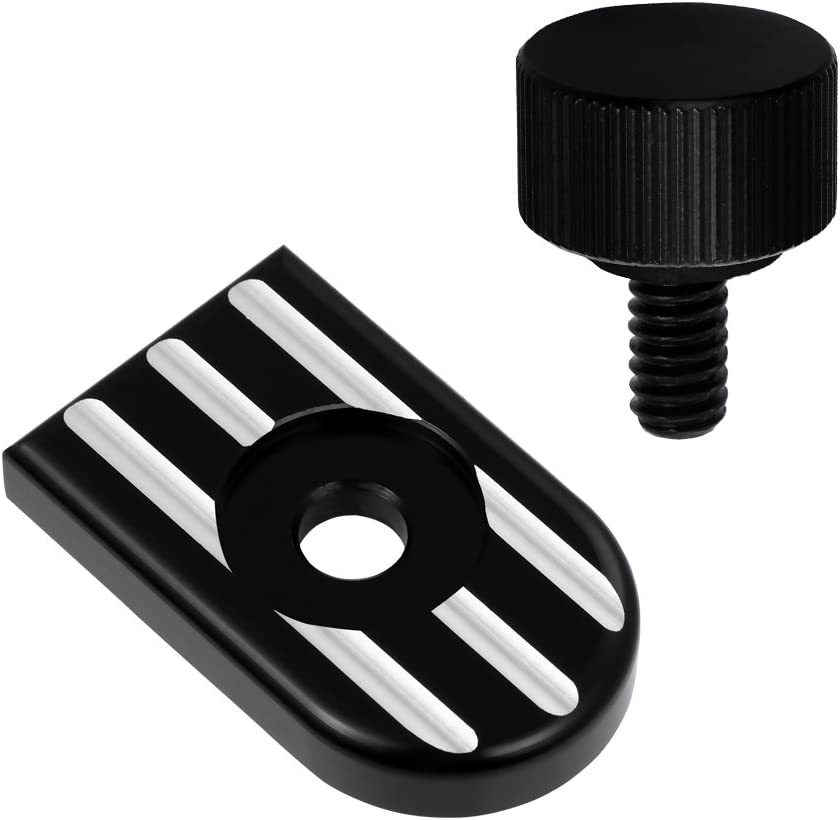 Amazicha Stainless Steel Seat Bolt Quick Mount Screw for Harley Street Bob Road King 1997-2019