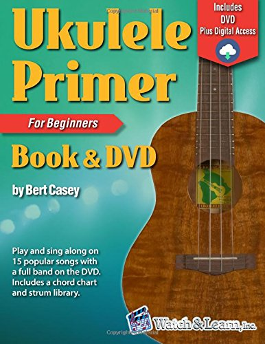 Dvd Learning Center - Ukulele Primer Book for Beginners with DVD