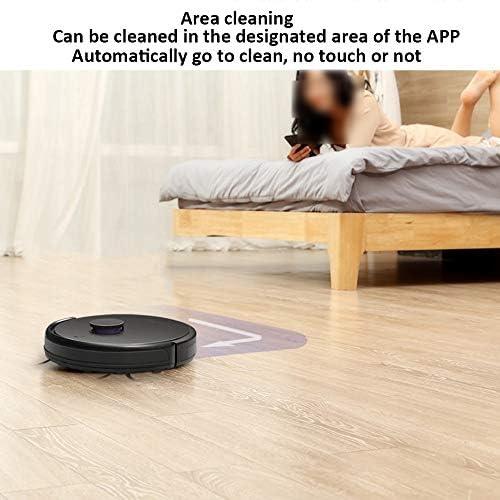 XSJZ Robot Aspirateur, Télécommande De Téléphone Portable for Auto-Charge Planification De La Maison Balayage Et Nettoyage Automatique Faciles Robo de Nettoyage