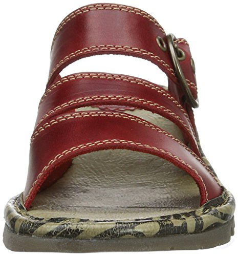 Fly London Damen Thea724fly Sandalen Rot (rood 003)