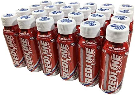 VPX Redline Xtreme, Watermelon, 8 Ounce Bottles, 24 Count