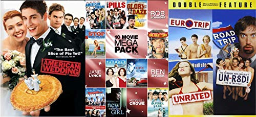 The Ultimate Awkward Suggestive Innuendo Young Adult Comedy Collection- Featuring: Tom Green, Rob Schneider, Ben Affleck, Seann William Scott, Russell Crowe + MORE 13 MOVIES