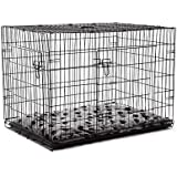 "Extra Large 42"" Collapsible Dog Crate"