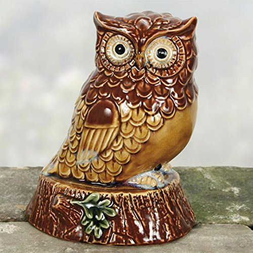 Coyne's Company COYNESD2612 Owl Motion Activated with Stand