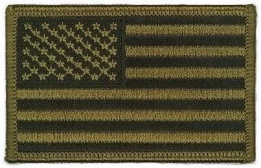 Paintball Patch Ecusson Brod/é US Army Classic Bras Gauche Airsoft USA Flag Outdoor Thermocollant