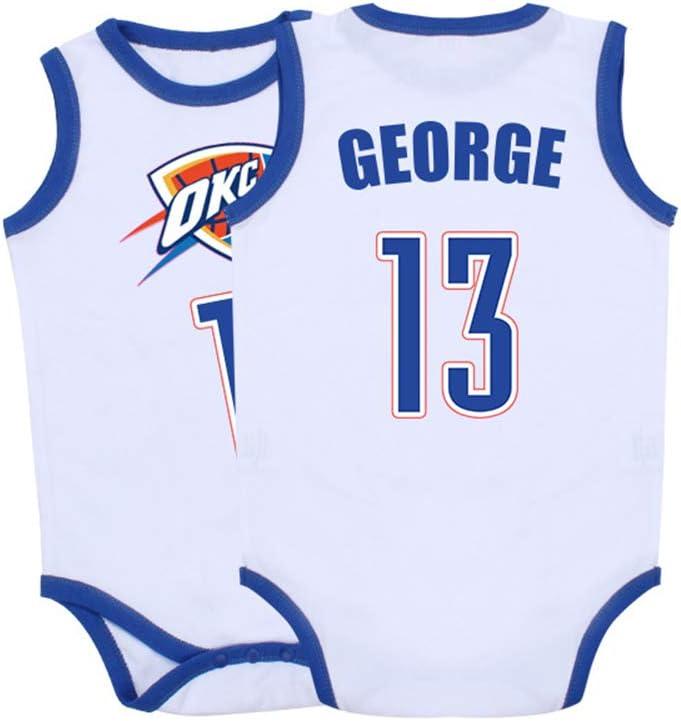 GHQ-Newborn Camisetas NBA Niños Oklahoma City Thunder NO.13 Paul ...