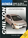 Honda Civic and CR-V, 2001-2010, Robert Maddox, 1563928914