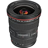 Canon EF 17-40mm f/4L USM Ultra Wide Angle Zoom Lens for Canon SLR Cameras International Version (No warranty)