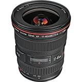 Canon EF 17-40mm f/4L USM Ultra Wide Angle Zoom Lens for...
