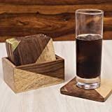 Rusticity Wood Coaster Set of 6 - Square