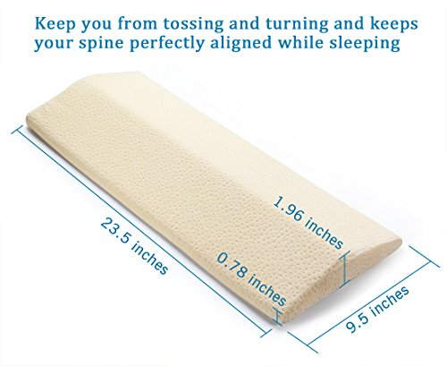 Long Sleeping Pillow For Lower Back Pain Multifunctional