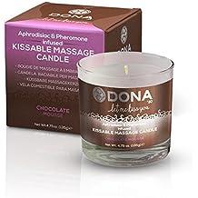 Dona - Chocolate Mousse Kissable Massage Candle Aphrodisiac & Pheromone Infused E26846 by DONA