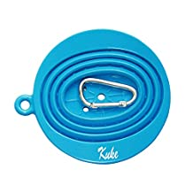Kuke Coffee Funnel - Silicone Pour Over Coffee Coffee Dripper - Collapsible Coffee Filter for Outdoor Travel,Use with Filter Paper - Dishwasher Safe by Kuke