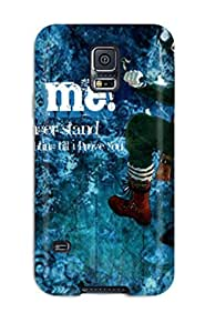 Awesome Blue Exorcist Rin Okumura Flip Case With Fashion Design For Galaxy S5