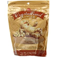 Ginger People Crystallized Ginger Candy, 3.5 Ounce