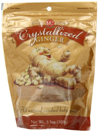 Ginger People Crystallized Ginger Candy, 3.5 - Soul Ginger