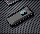 Double Arc USB Charging Lighter Touch The Ignition Level Display Dual Arc Plasma Lighter USB Rechargeable Windproof Flameless Butane Free Electric Lighter (Black Brushed)