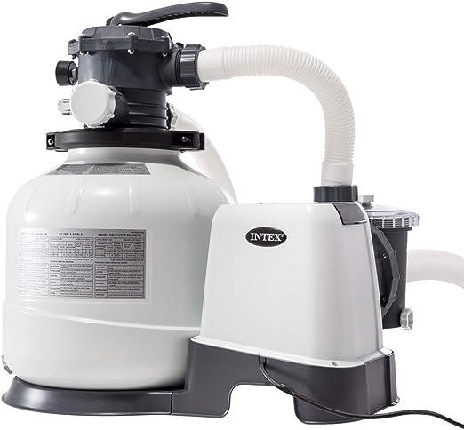 Intex 26648 - Depuradora arena Krystal Clear 10.500 litros/hora 14 ...