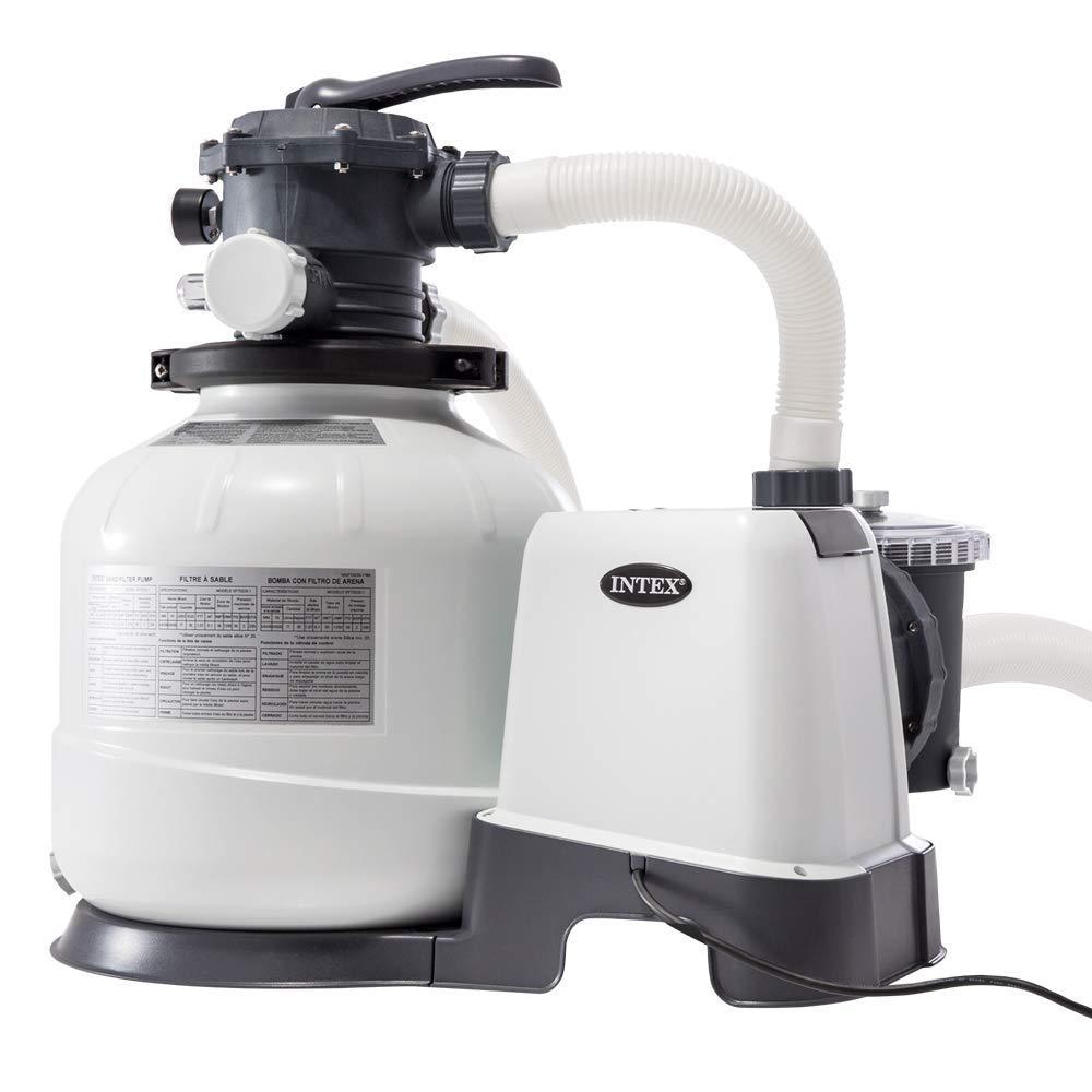 Intex 26648 - Depuradora arena Krystal Clear 10.500 litros/hora 14