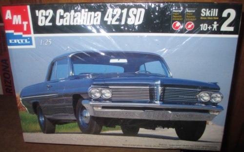 AMT ERL 62 catalina 421SD COLLECTIBLE CAR MODEL KIT