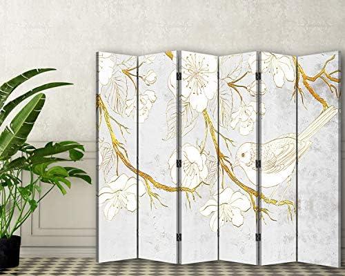 Feeby Pared Española Modelo 3D 6 Paneles Bilateral Abstracto ...