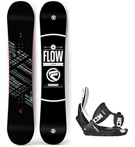 Flow 2019 Gap Men's Snowboard Alpha LTD Bindings - Board Size 158 Wide (XL (11-15)) (Ltd Bindings)
