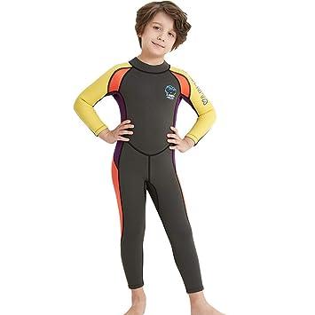Amazon.com: Traje de neopreno para niños y niñas de 0.098 in ...