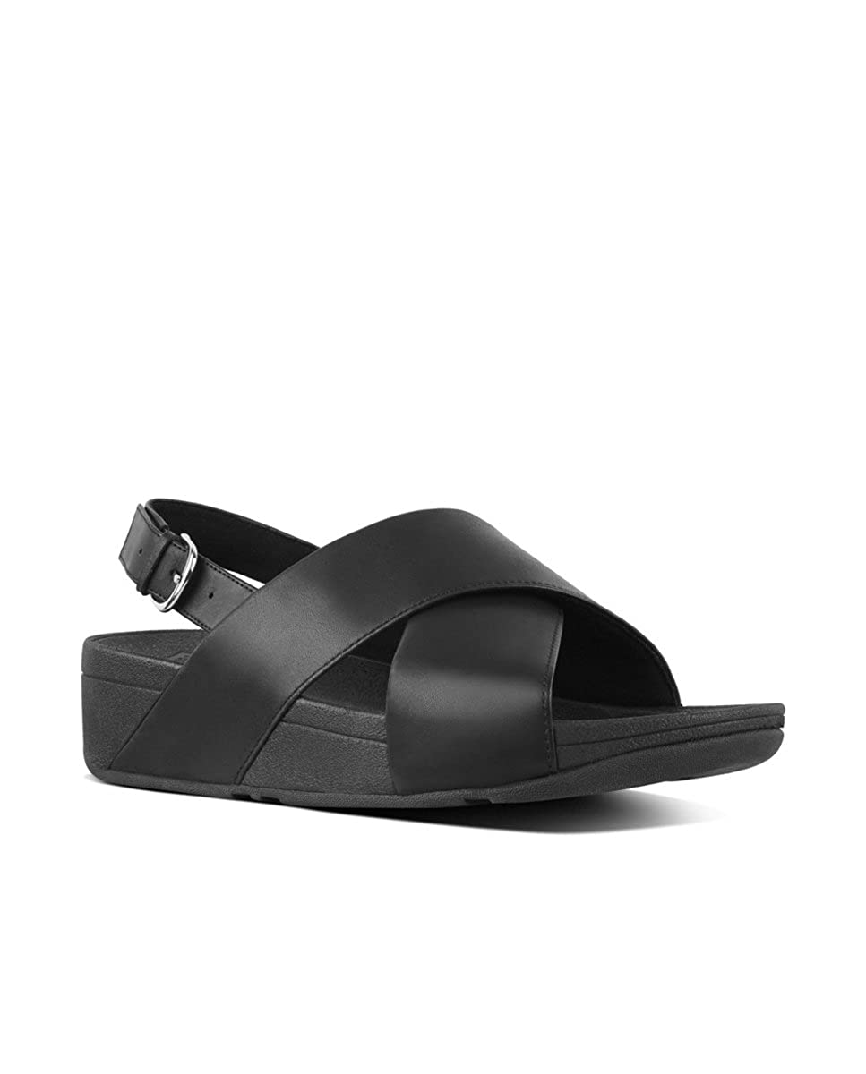 Fitflop Women s Lulu Cross Back-Strap Ankle Sandals