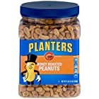 Planters Honey Roasted & Salted Peanuts (34.5 oz Canister)