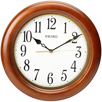 amazon com seiko qxa522blh classic wall clock watches