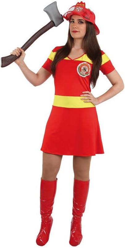 DISBACANAL Disfraz bombera Sexy Mujer - -, S: Amazon.es: Juguetes ...