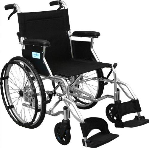 【非課税】島製作所 カラー自走式車椅子Palet  ブラック [自走介助兼用] B00E9P208W  ブラック