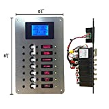 AC Main Circuit Breaker Panel with Digital AC Voltmeter / 120 Volt