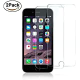 iPhone 6S Plus Screen Protector, [2 Pack] Sincase 9H 0.26MM Clear iPhone 6 Plus Tempered Glass Screen Protector Curved Edge Film [Anti Scratch] for iPhone 6/6S Plus 5.5 Inch, 3D Touch Compatible