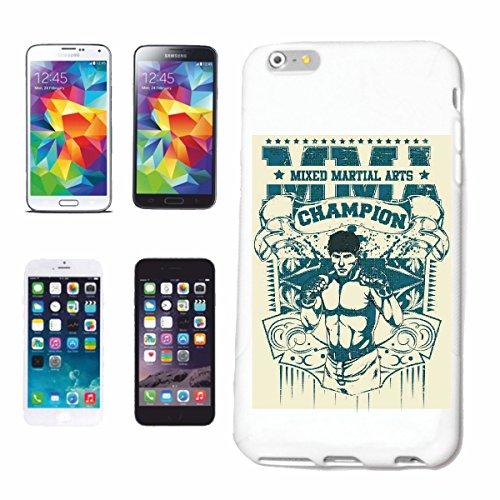 caja del teléfono iPhone 7+ Plus MMA MMA ARTE ARTE material mezclado material mezclado Fightclub lucha de la calle de karate Boxeo Kick Boxing JUDO Caso duro de la cubierta Teléfono Cubiertas cubier