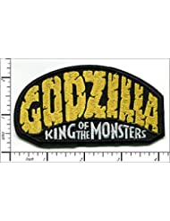 Godzilla king of the Monsters Iron on Patch