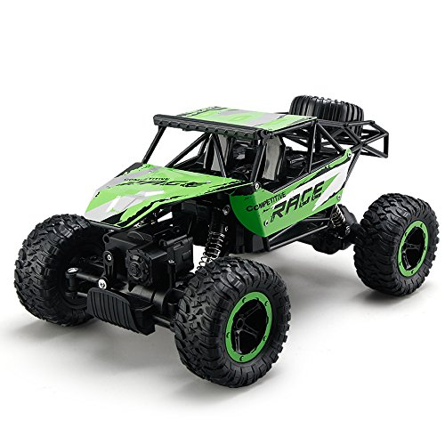 Rock Crawler Suspension (Rock Crawler,ASGO Cgo EC-V101 Remote Control Vehicle 2.4GHz 4WD Mode Fast Speed Off Road Car)